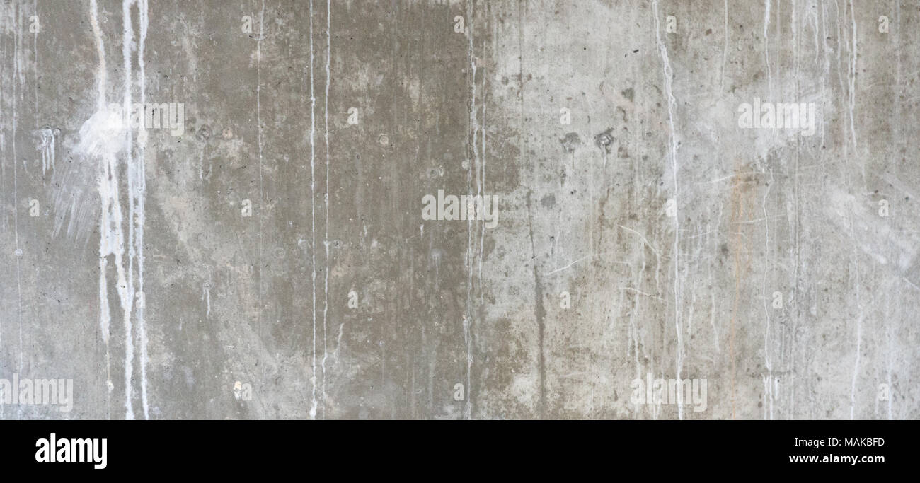 Plastered cement concrete wall background texture Stock Photo