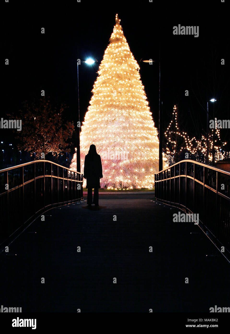 Lonely Christmas.Lonely Christmas Figure Stock Photos Lonely Christmas
