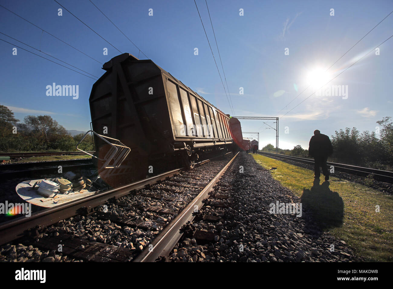 Rail Accident Stock Photos & Rail Accident Stock Images - Alamy
