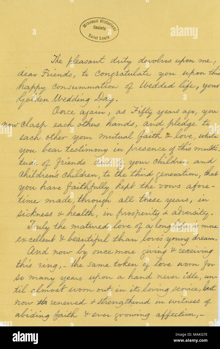 Contains Eliot S Blessing On The Occasion Of Her Parents Fiftieth