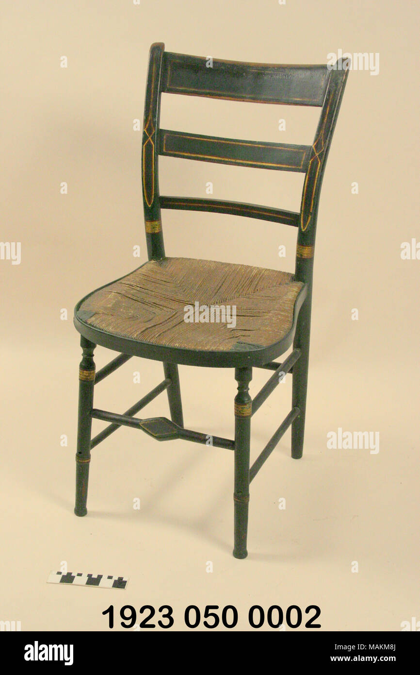 One of a group of stencil-decorated green u0027fancyu0027 chairs originally owned by  sc 1 st  Alamy & Fancy Chair Stock Photos u0026 Fancy Chair Stock Images - Alamy