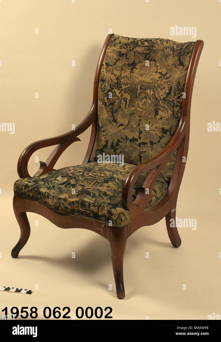 this chair along with a matching set of arm chairs and sofa were
