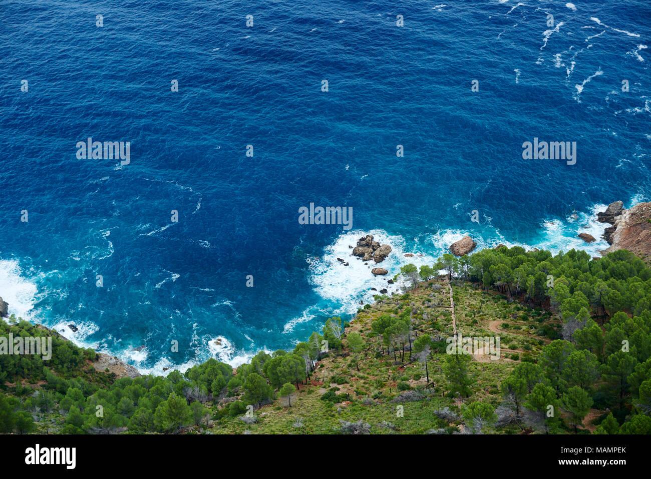 Aussicht auf das Mittelmeer - Stock Image