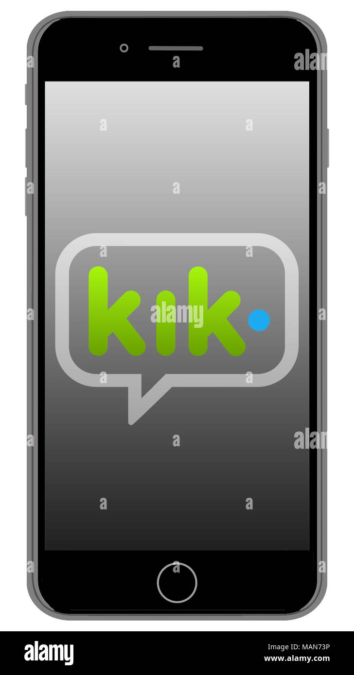 what does the kik app look like
