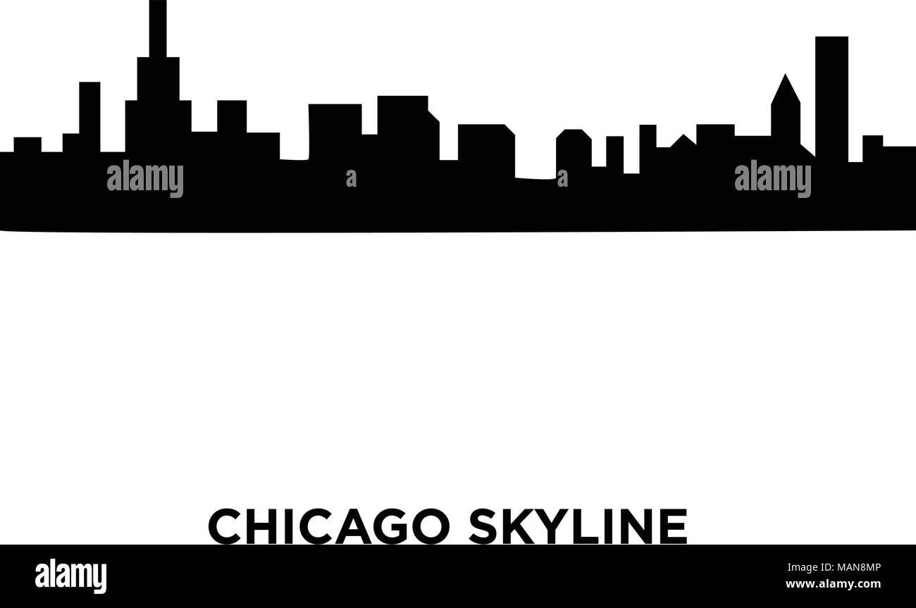 chicago skyline stock vector images alamy