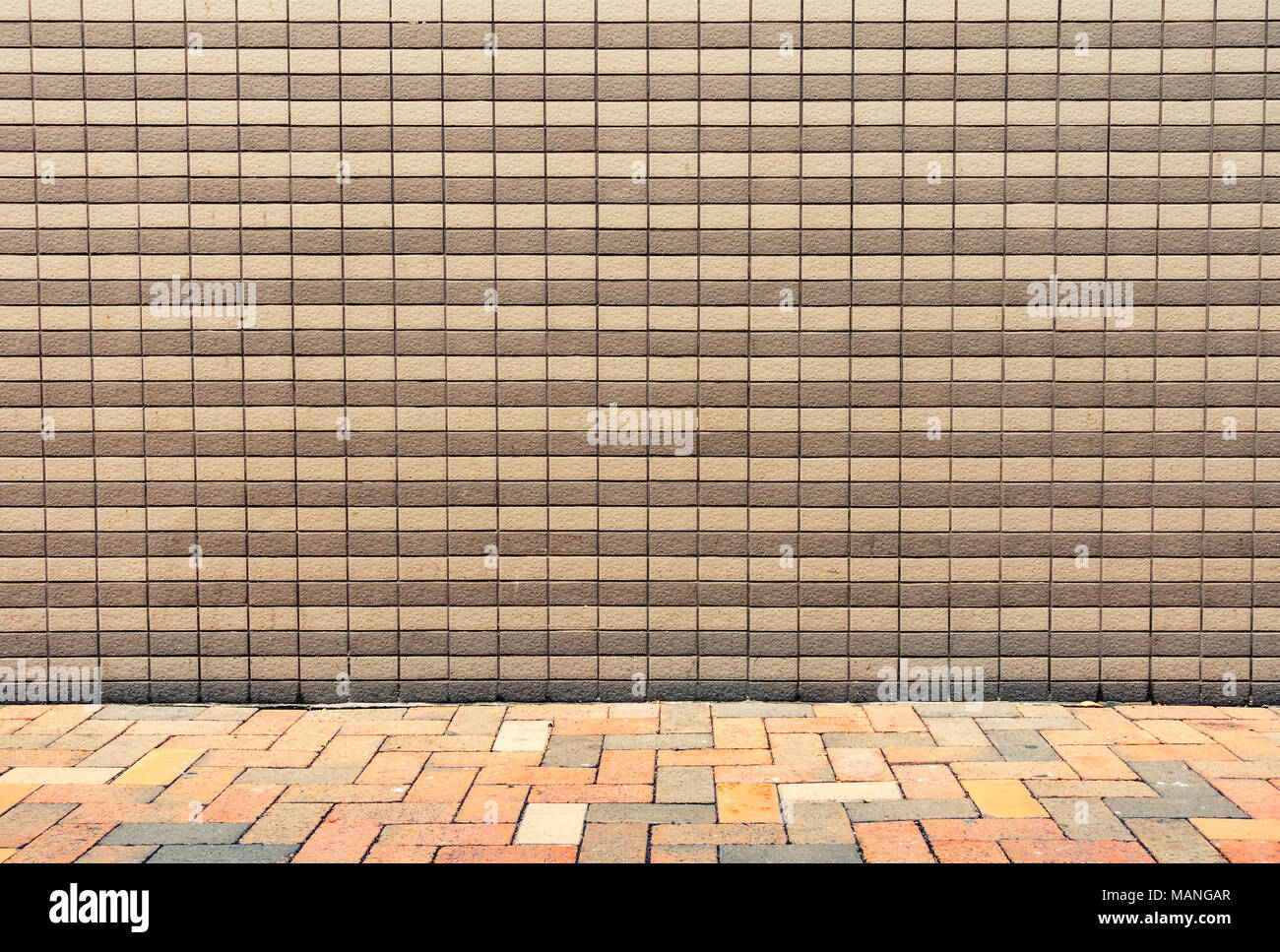 Ceramic tile background on exterior wall Stock Photo: 178724079 - Alamy