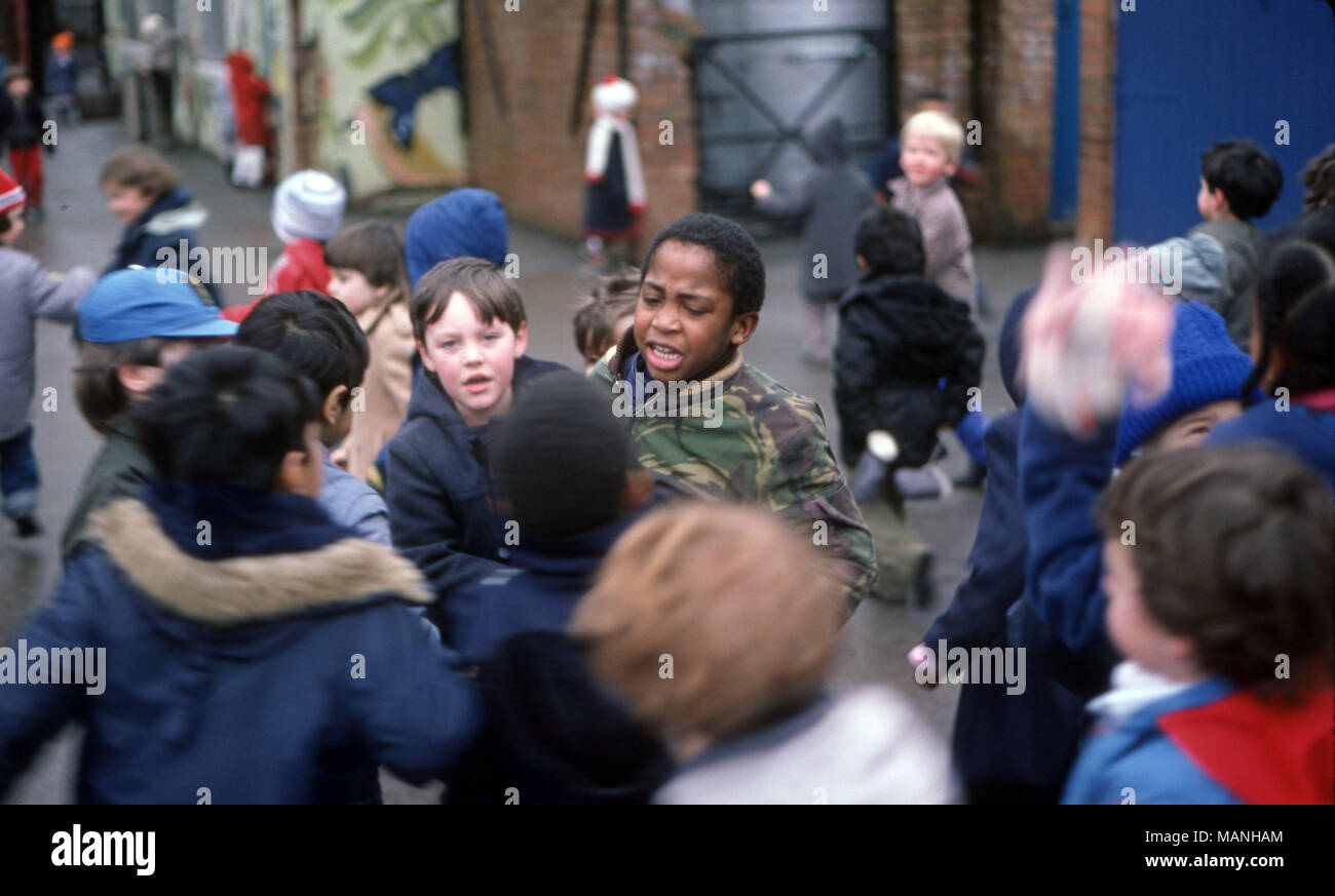 Primary school bullying - Stock Image