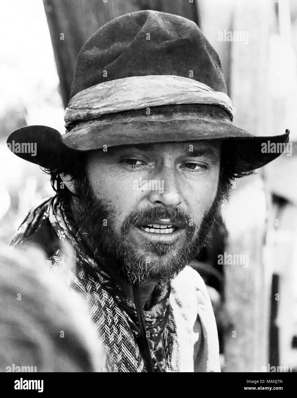 THE MISSOURI BREAKS 1976 United Artists film with Jack Nicholson - Stock Image