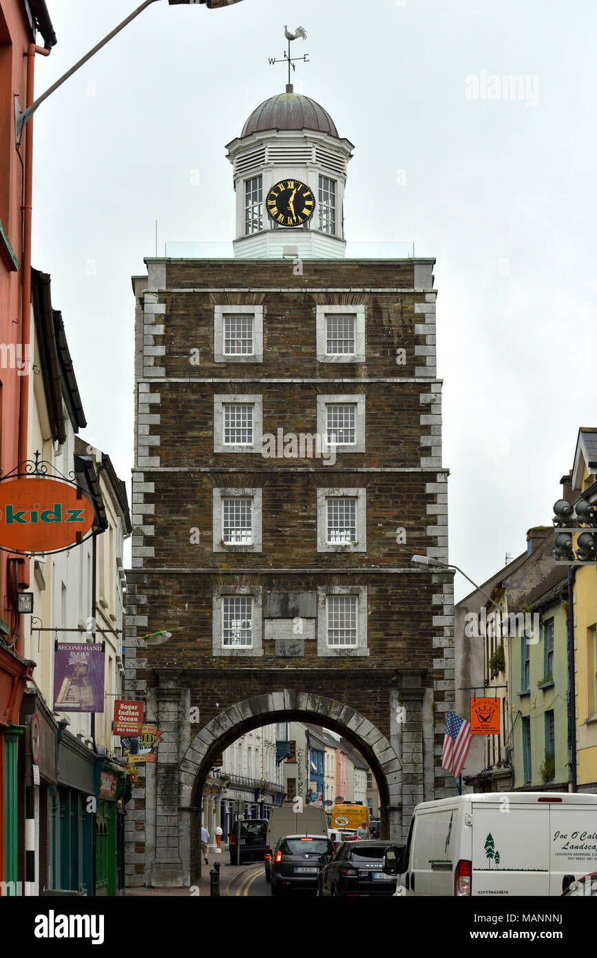 Youghall Clock Gate Tower - Stock Image