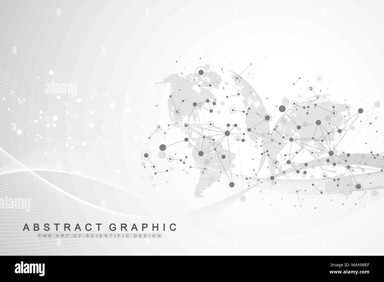 Drawing Lines In Mappoint : Business networking polygonal mesh background digital global