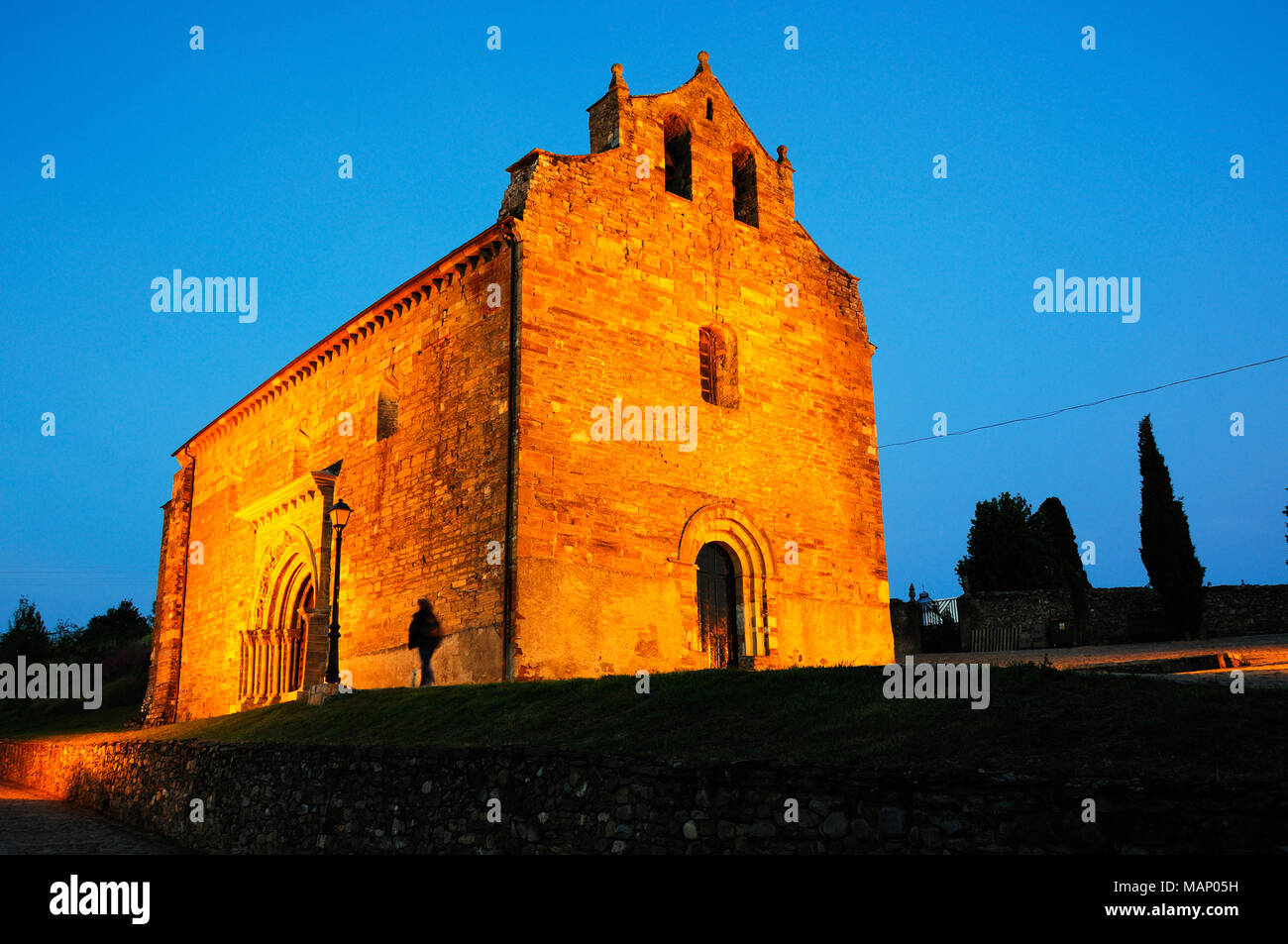 Villafranca del Bierzo, Castilla y León. Spain - Stock Image