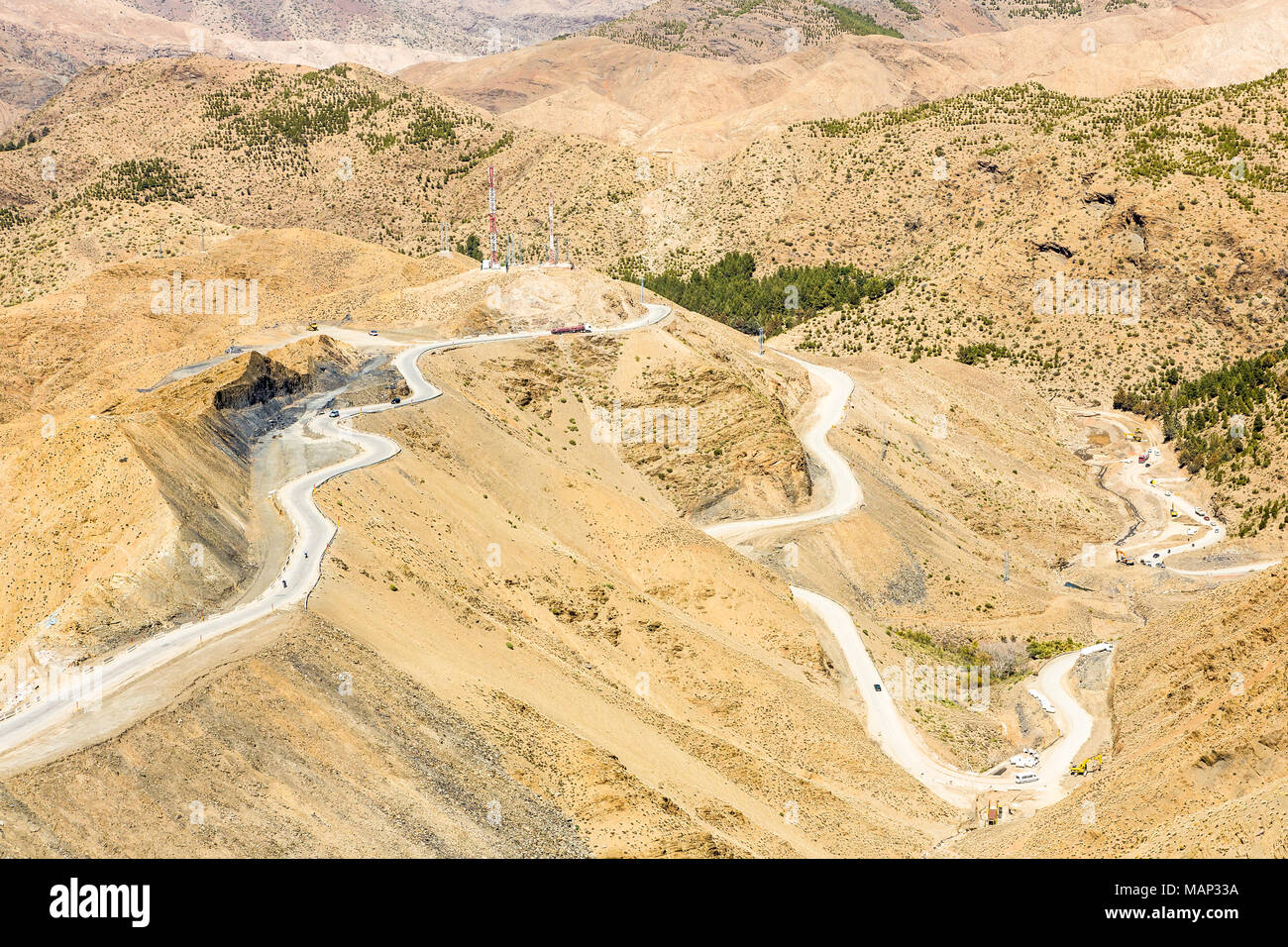 Atlas Mountains In Morocco Africa Stock Photo 178735630