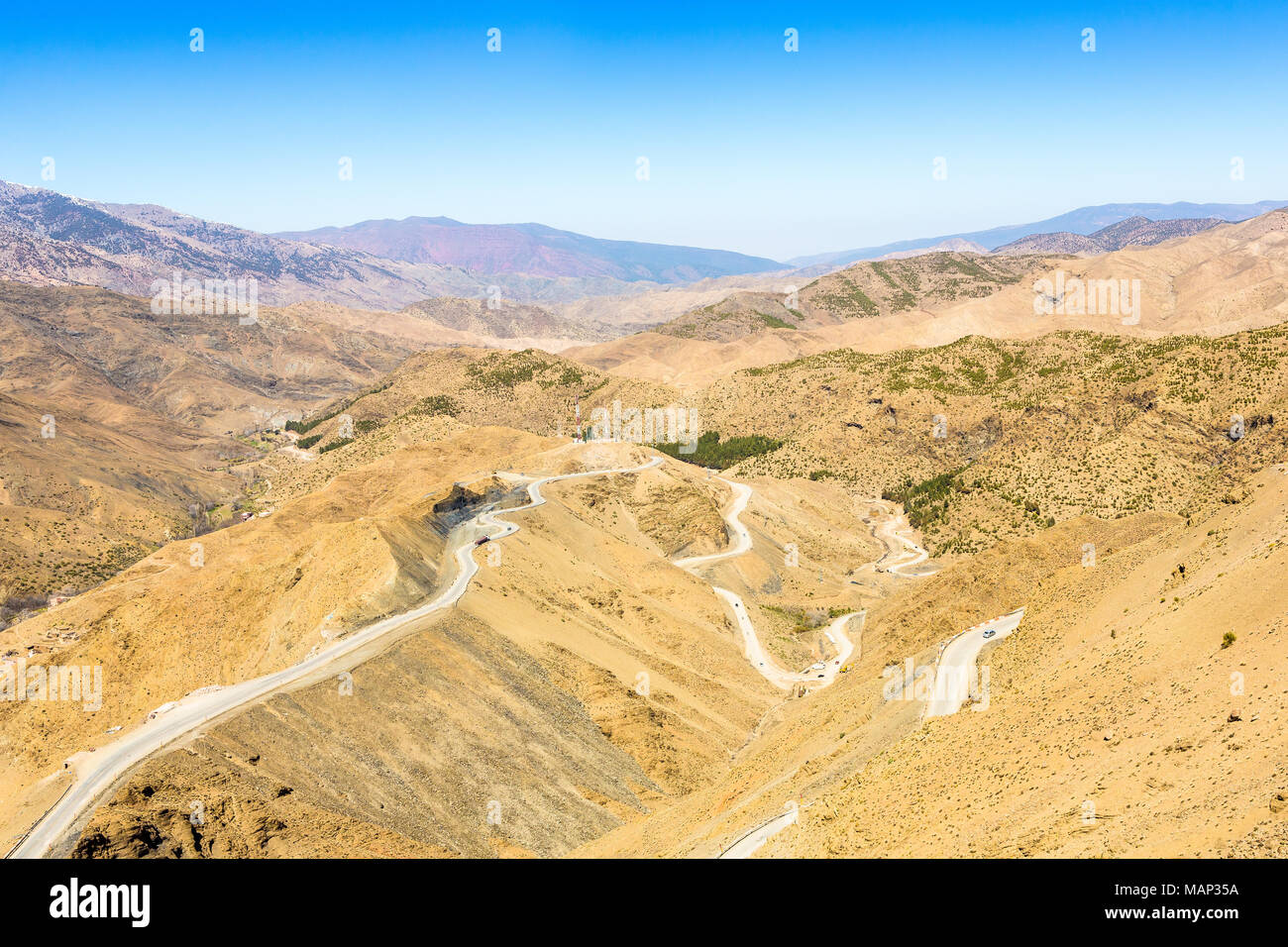 Atlas Mountains In Morocco Africa Stock Photo 178735686