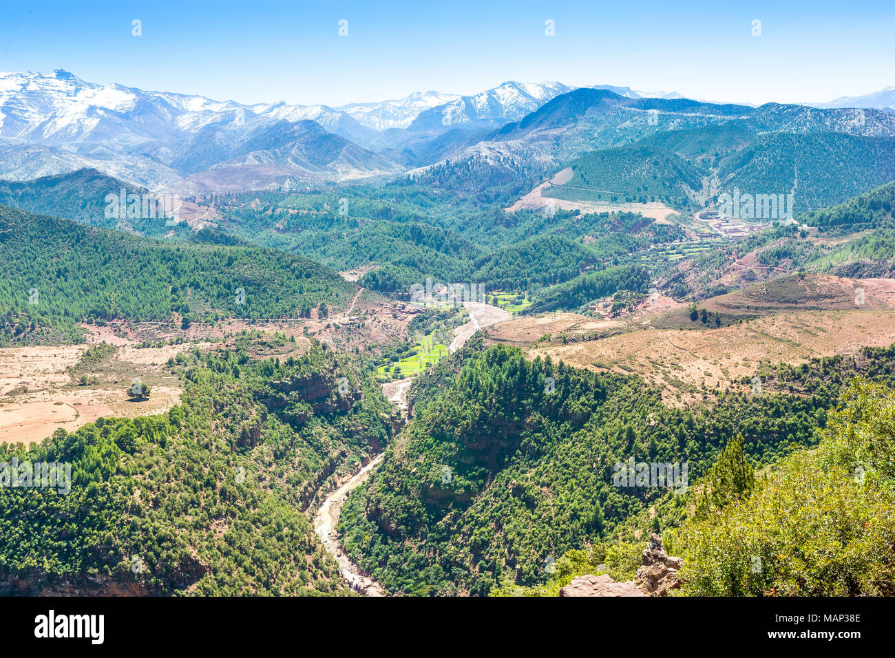 Atlas Mountains In Morocco Africa Stock Photo 178735774