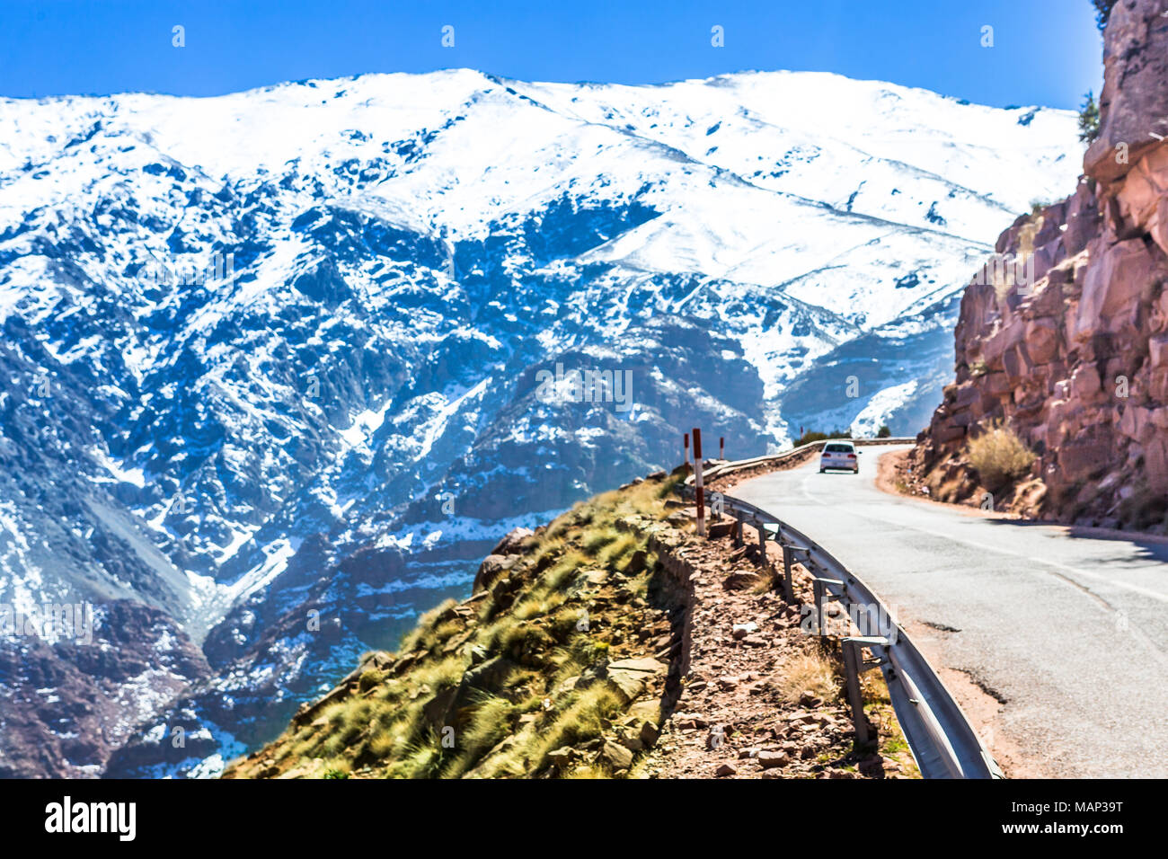 Atlas Mountains In Morocco Africa Stock Photo 178735812