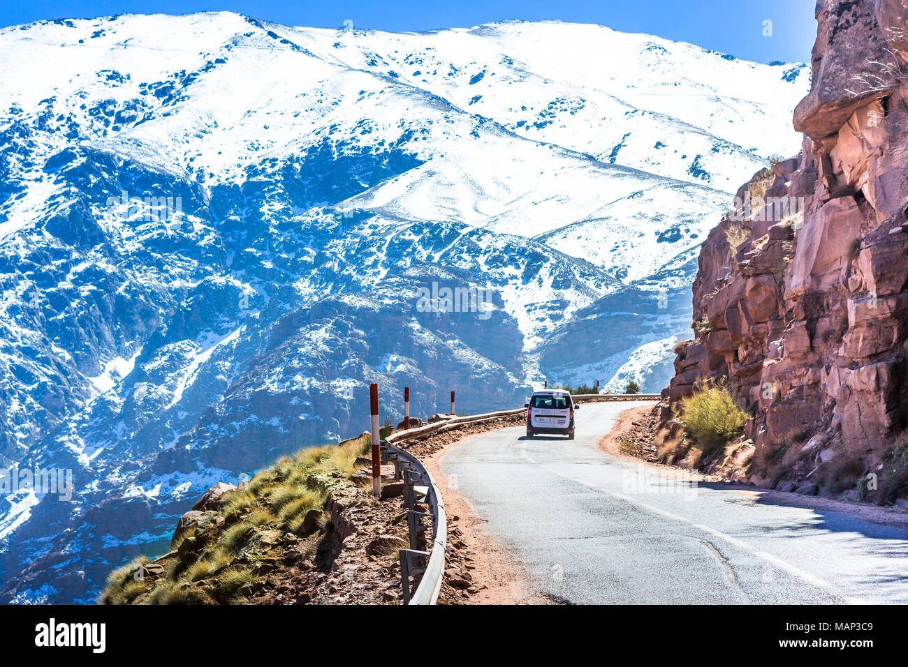 Atlas Mountains In Morocco Africa Stock Photo 178735881