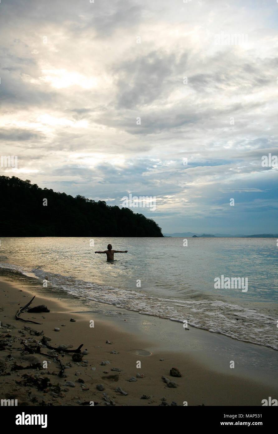 Gorontalo island. Sulawesi. Indonesia - Stock Image