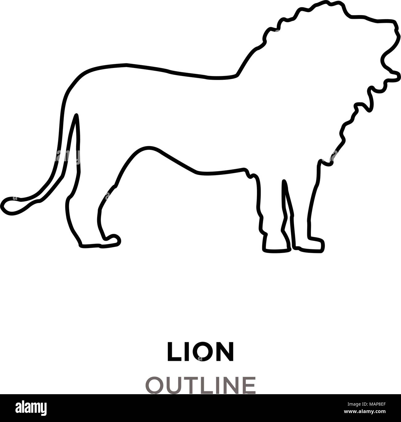 Lion Outline Images On White Background Stock Vector Image Art Alamy Lion outline tribal embroidery design in 3x3 4x4 and 5x7 heart outline valentine embroidery design in 1x1 2x2 3x3 4x4 and 5x7 sizes. https www alamy com lion outline images on white background image178739863 html