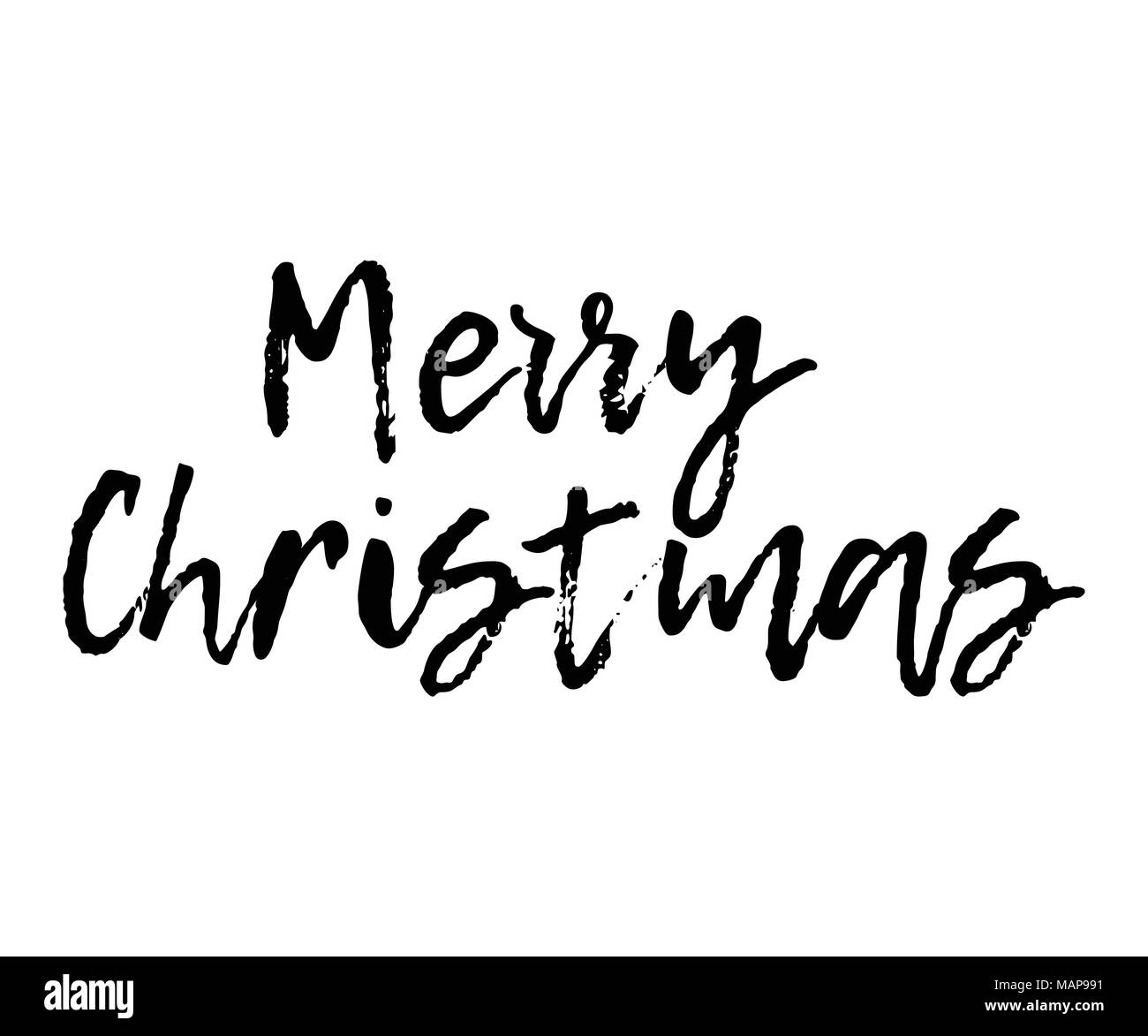 merry christmas card with calligraphy merry christmas template for