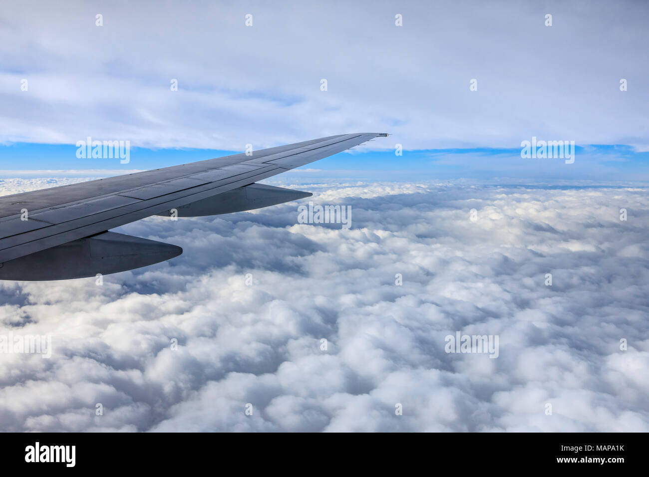 Uzbekistan Airways flight to Tashkent. Picture date: Wednesday March 14, 2018. Photograph by Christopher Ison © - Stock Image