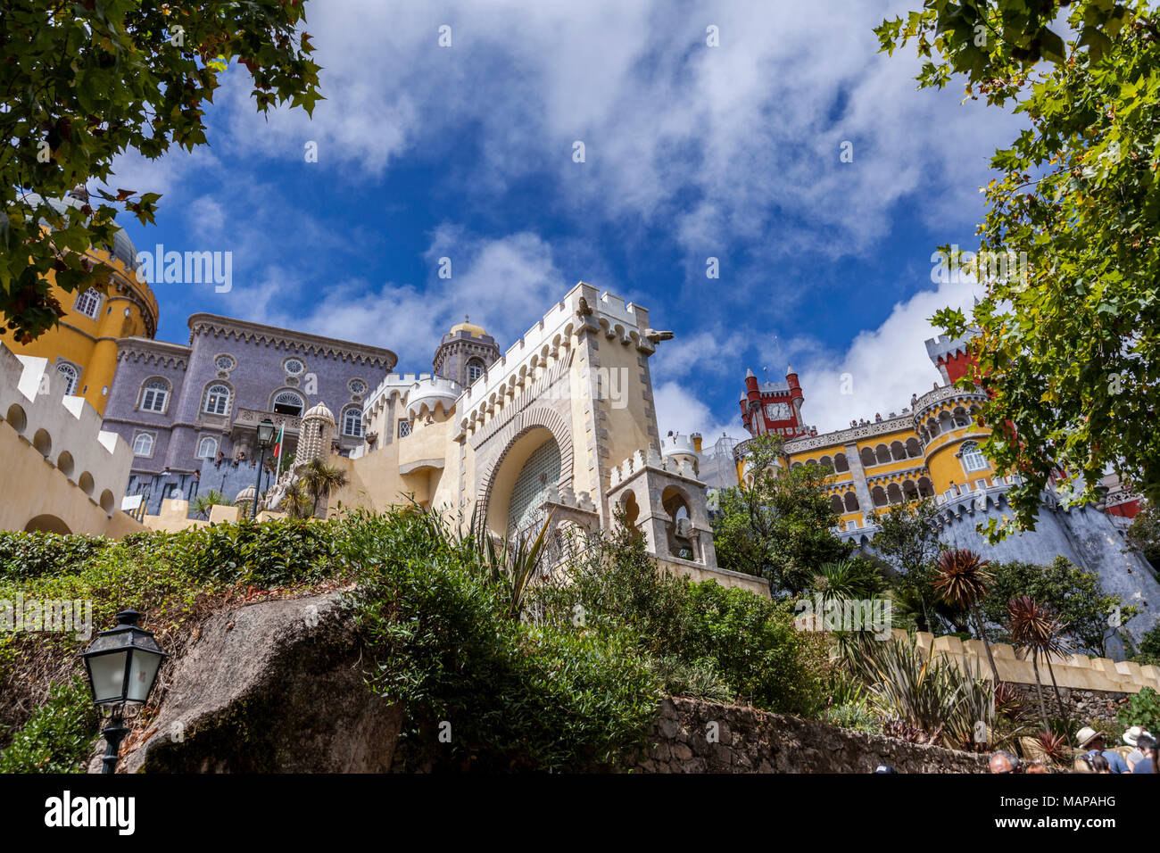 Sintra Place, Portugal - Stock Image