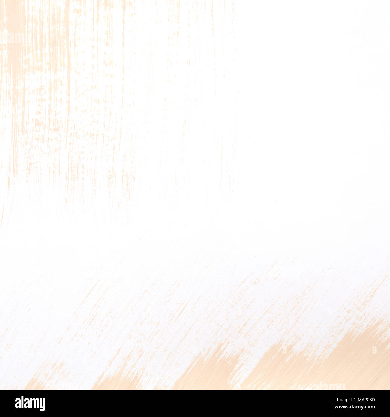 Paint brush stroke texture background in pastel colors with copy space available. - Stock Image