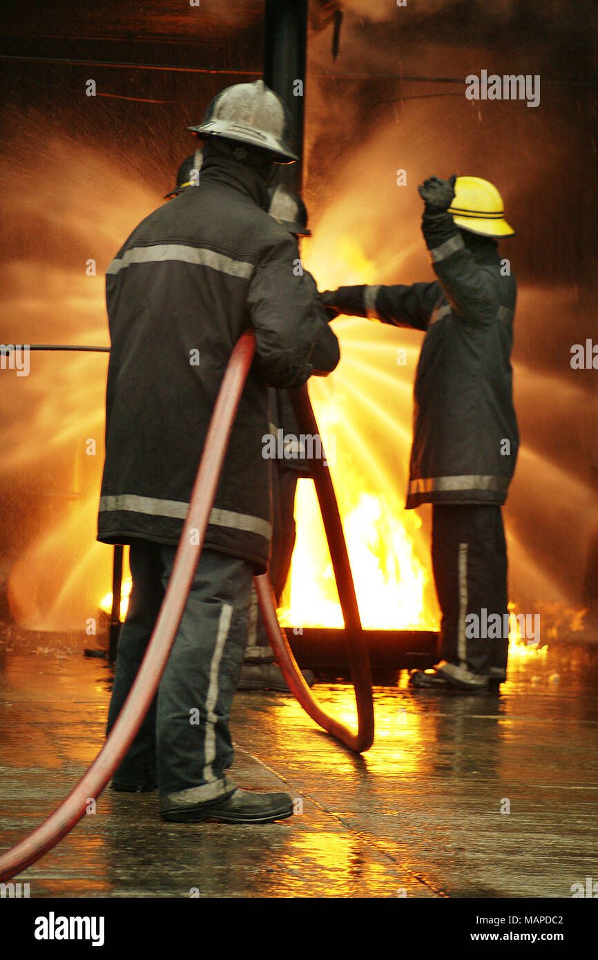 Large Incident Fire Map.Fire Risk Hazard Stock Photos Fire Risk Hazard Stock Images Alamy