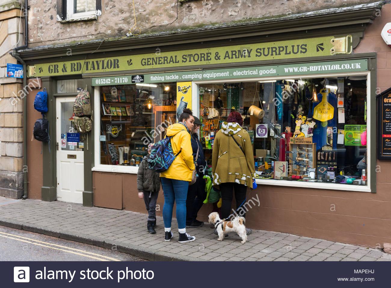 Army Surplus Store Stock Photos & Army Surplus Store Stock