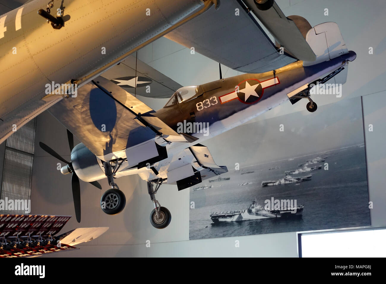 National World War II Museum in New Orleans, Louisiana - Stock Image