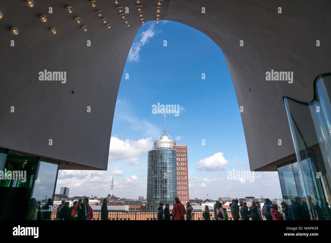 Aussichtsplattform Hamburg