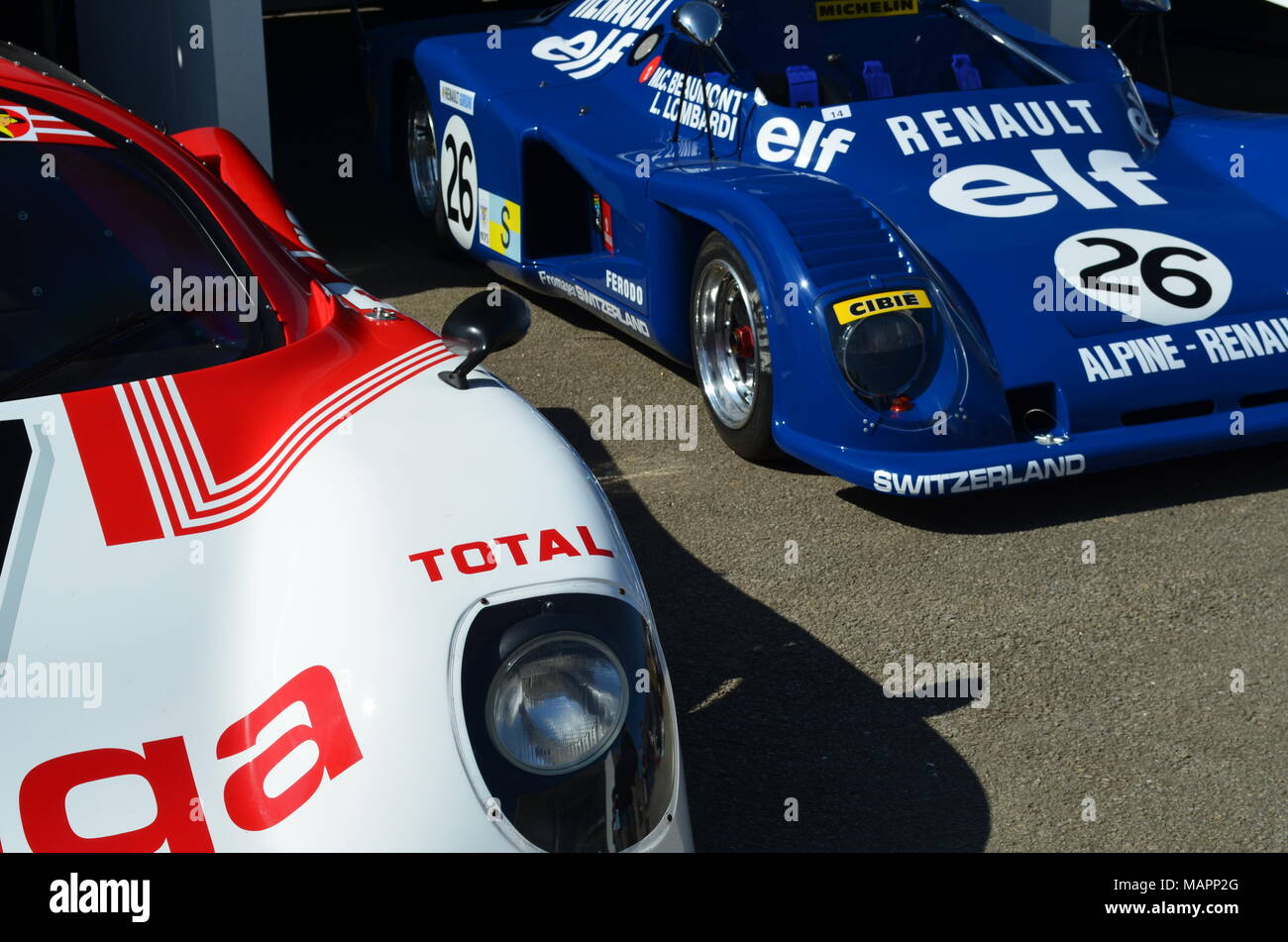 Race cars at the 72nd Goodwood Members Meeting held at the West ...