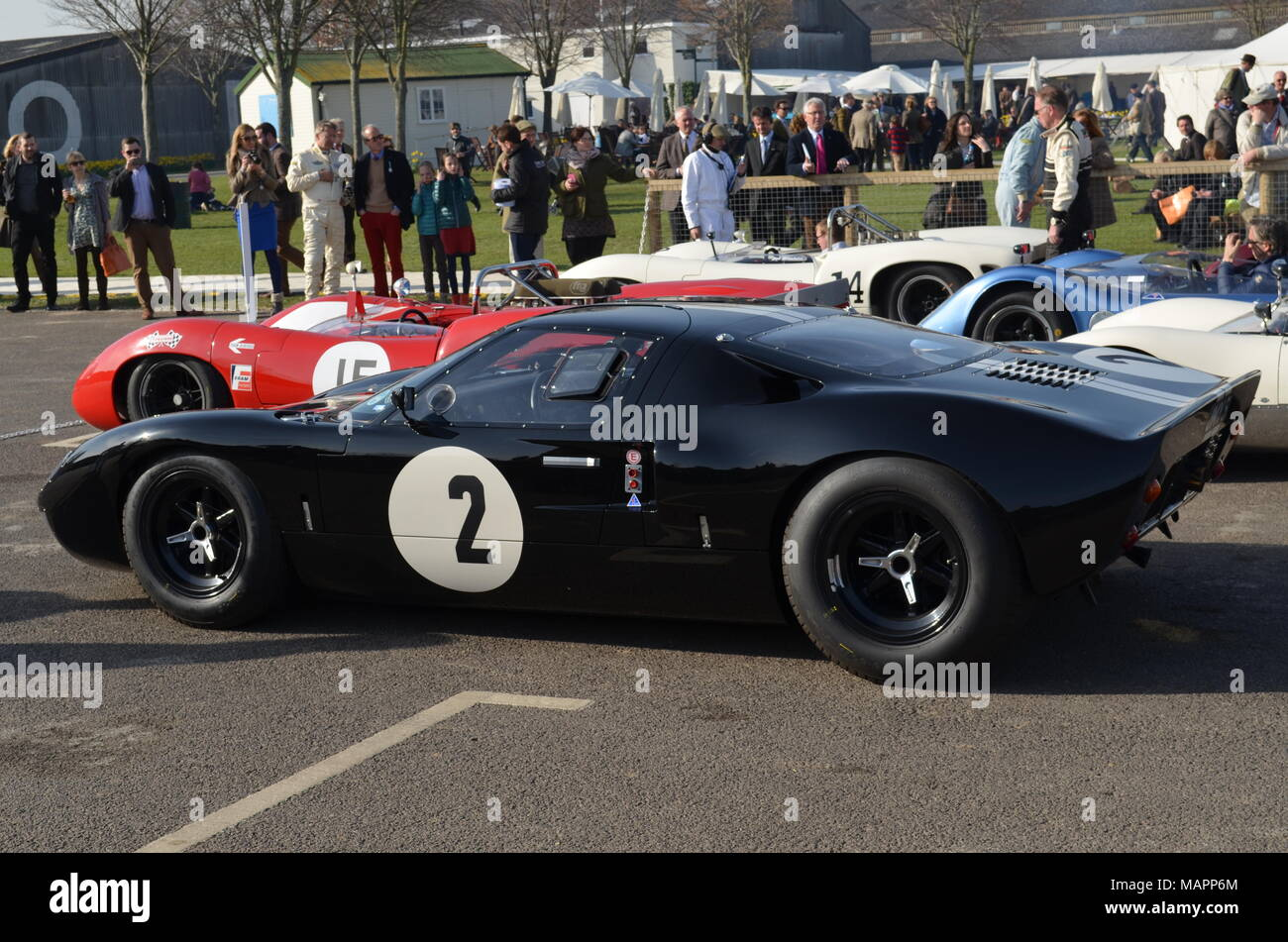 Ford Gt40 Endurance Racing Car Stock Photos & Ford Gt40 Endurance ...