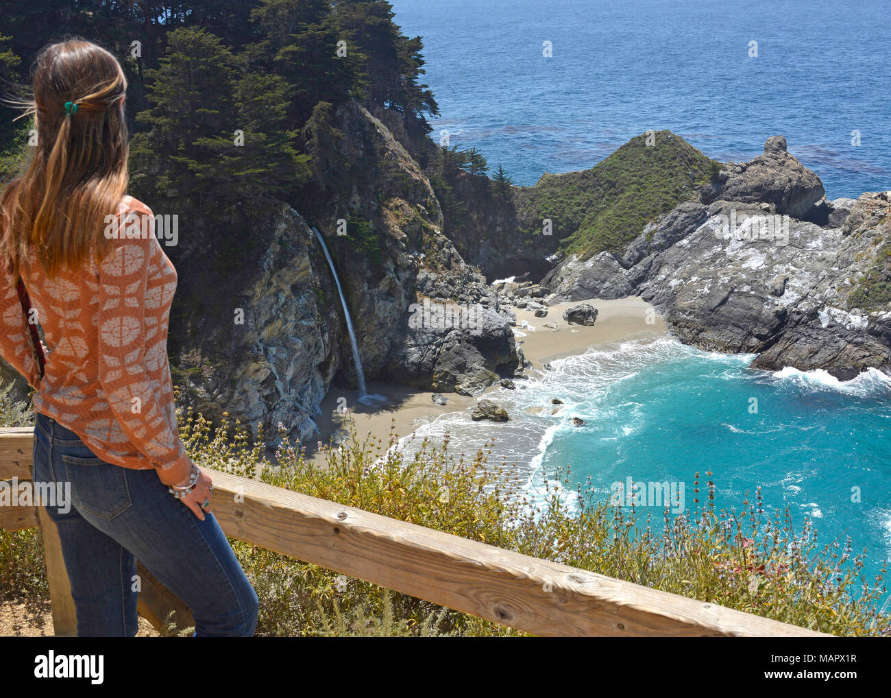 Magic of Big Sur - Stock Image