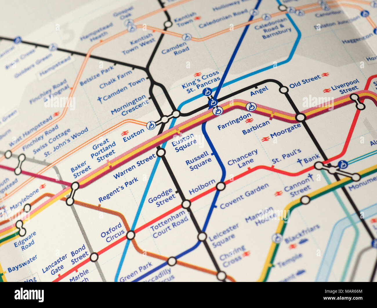 London Stations Map.London Uk Circa 2018 Map Of London Underground Tube Stations