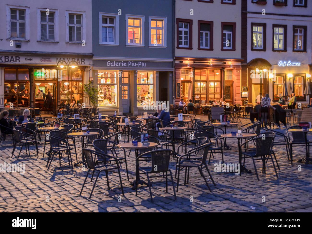 Marktplatz, Heidelberg, Baden-Württemberg, Deutschland - Stock Image