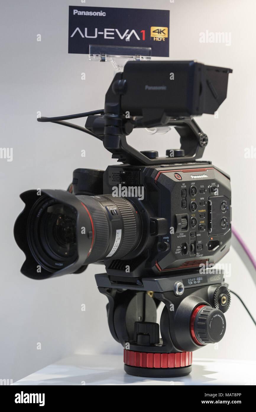 Panasonic Video Camera Stock Photos & Panasonic Video Camera