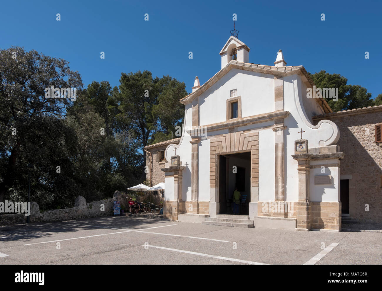 Mallorca, Pollenca, Puig del Calvari, Kalvarienberg, Oratorium - Stock Image