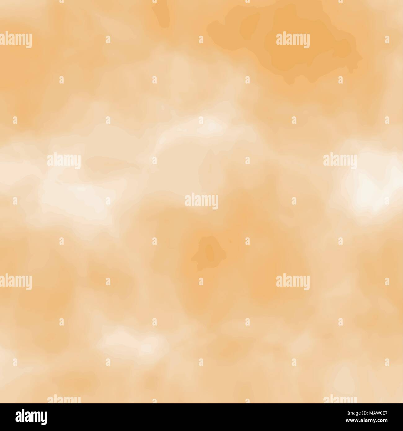 yellow watercolor blurred background pattern, vector illustration - Stock Vector