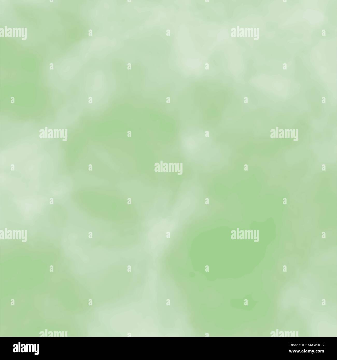 green watercolor blurred background pattern, vector illustration - Stock Vector