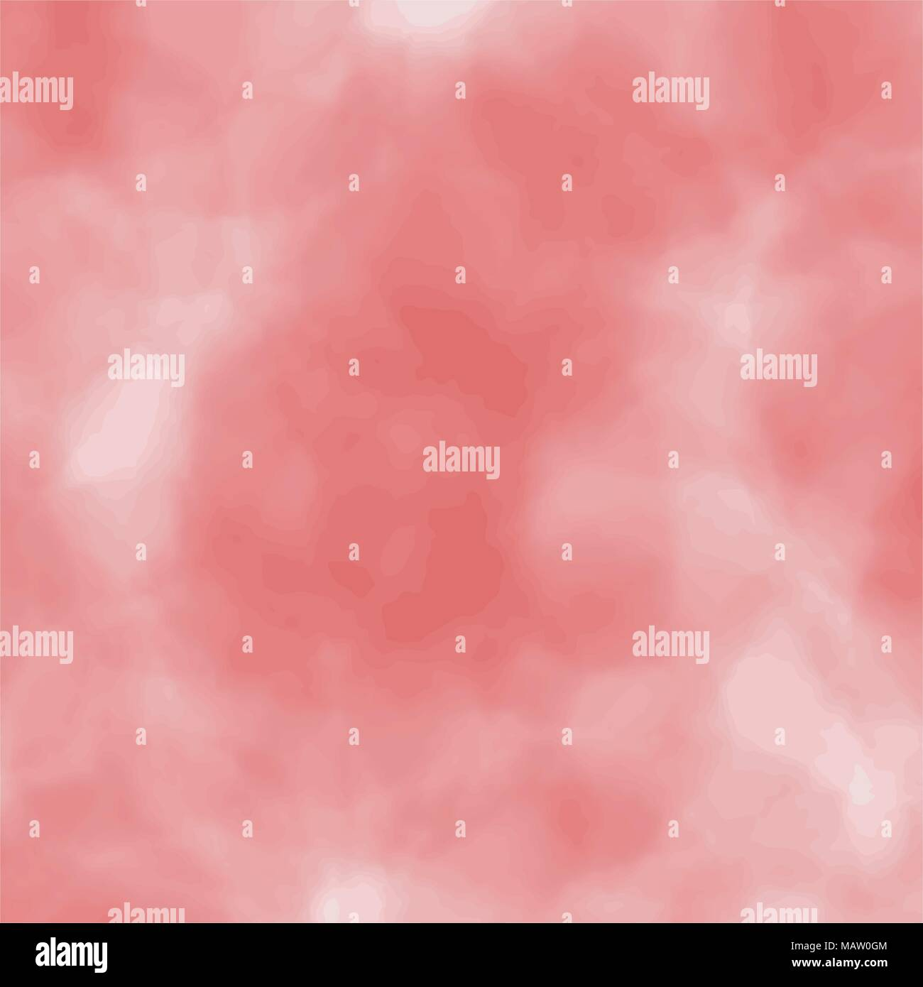 red watercolor blurred background pattern, vector illustration - Stock Vector