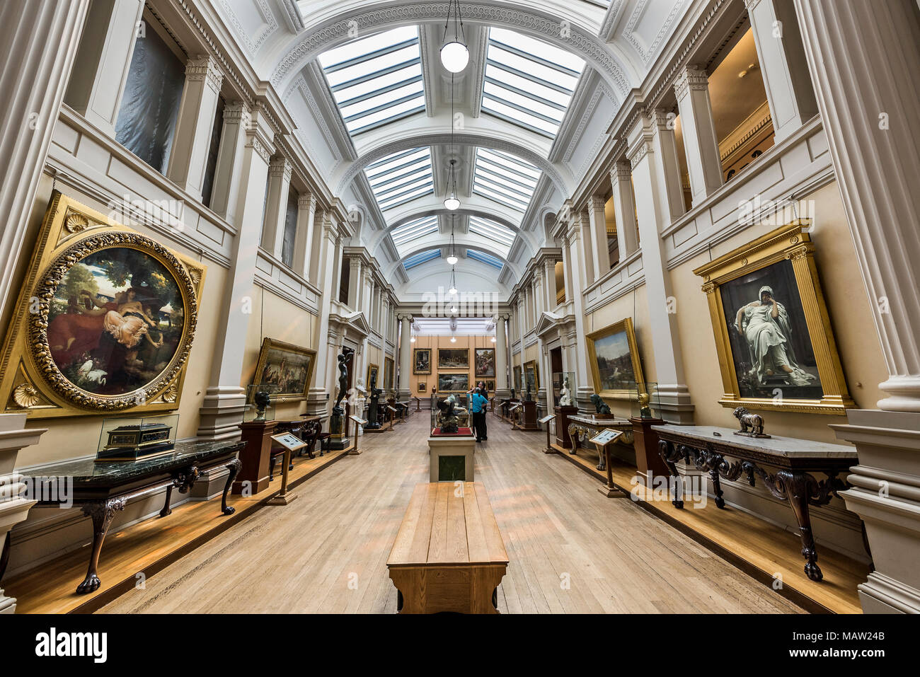 The Lady Lever Art Gallery port sunlight wirral merseyside north west england uk - Stock Image