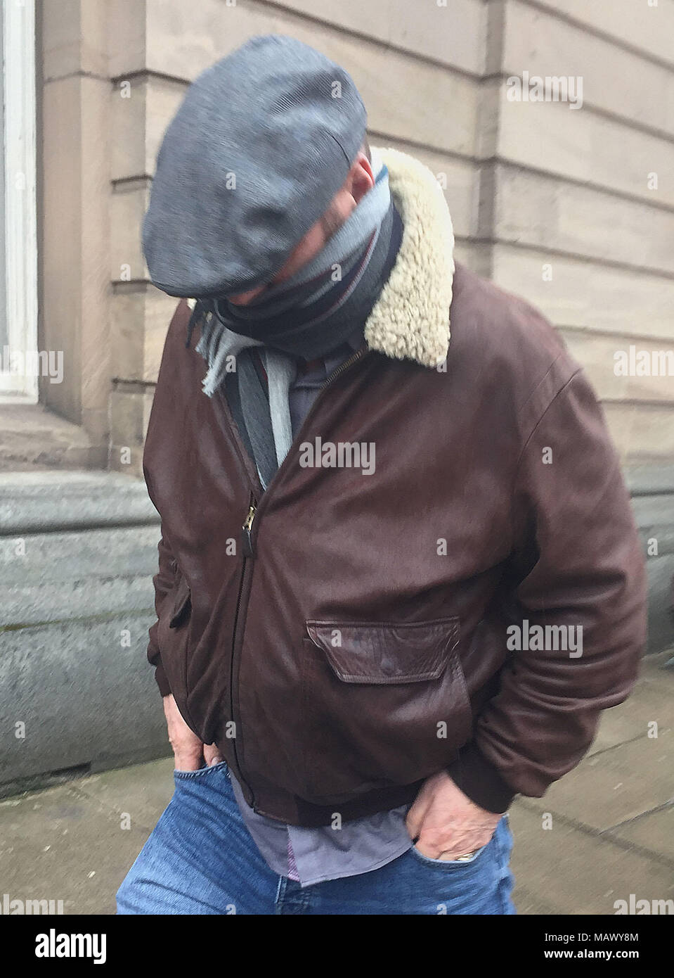 8c58abe9a BEST QUALITY AVAILABLE Pascal Blasio of Gillingham, Kent, leaving Wirral  MagistratesÕ Court in Birkenhead charged with causing an explosion likely  to ...