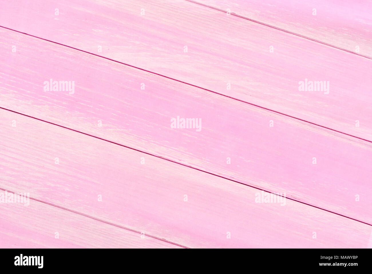 Wooden planks background with copy space. Pink planks or wooden table background or backdrop. - Stock Image