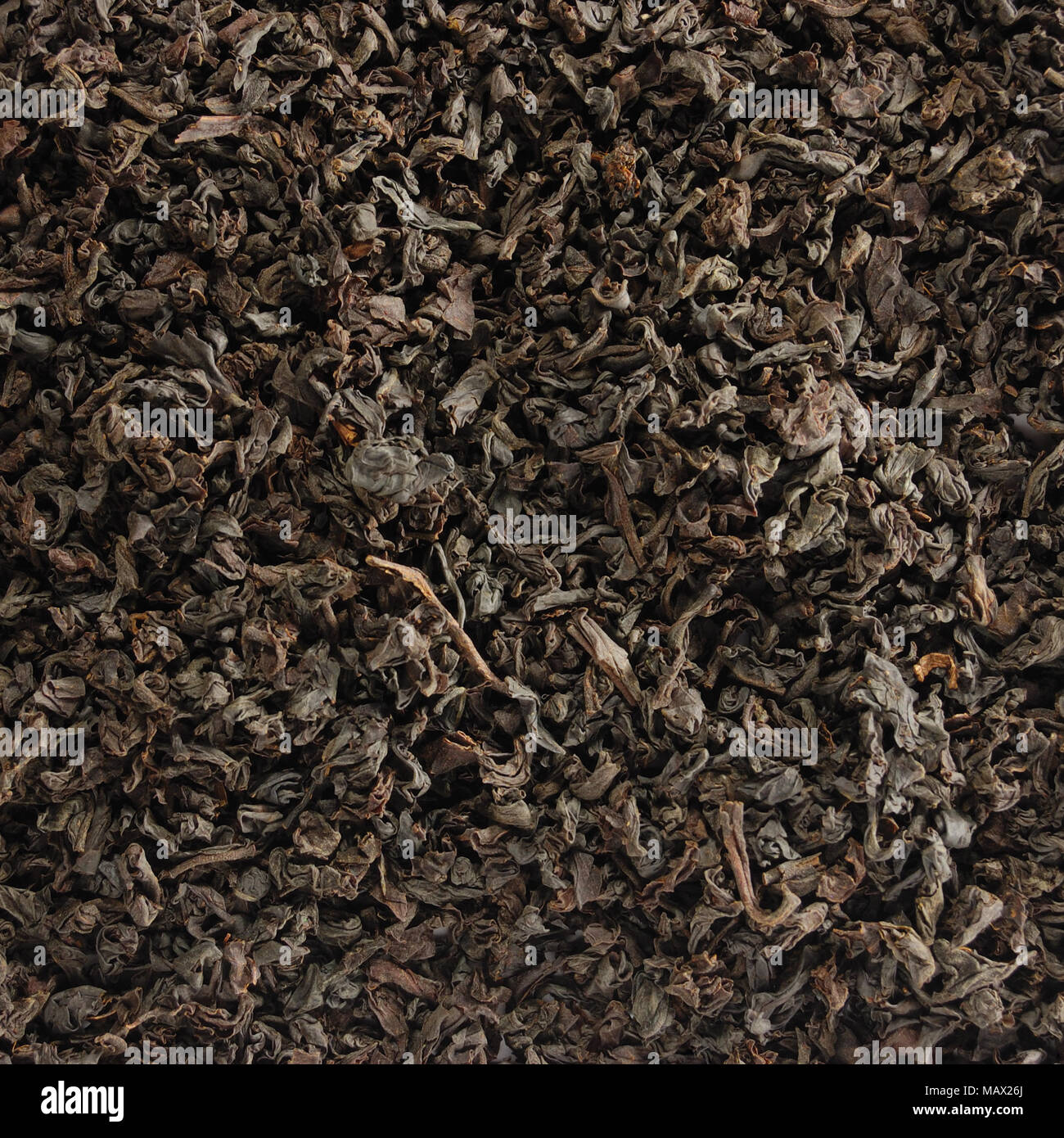 Dark Loose Leaf Tea Background Black Golden Leaves Blend Texture Pattern Closeup Detail Large Detailed Textured Macro Wallpaper