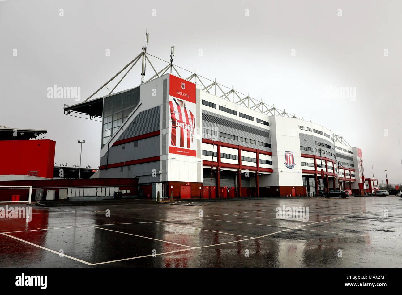The Bet 365 Stadium, home of Stoke City Football Club - Stock Image