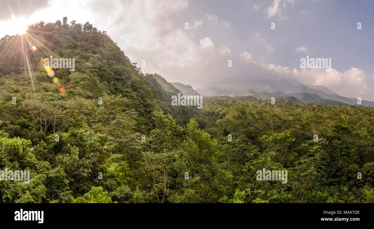 Indonesia Mount Merapi - Stock Image