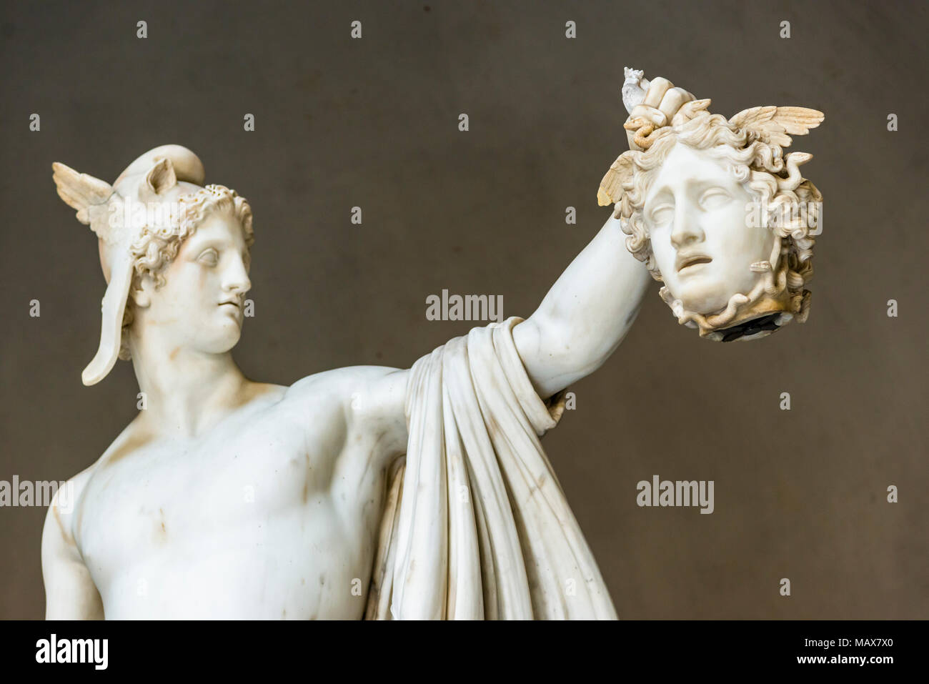 Statue Of Perseus With The Head Of Medusa By Antonio Canova