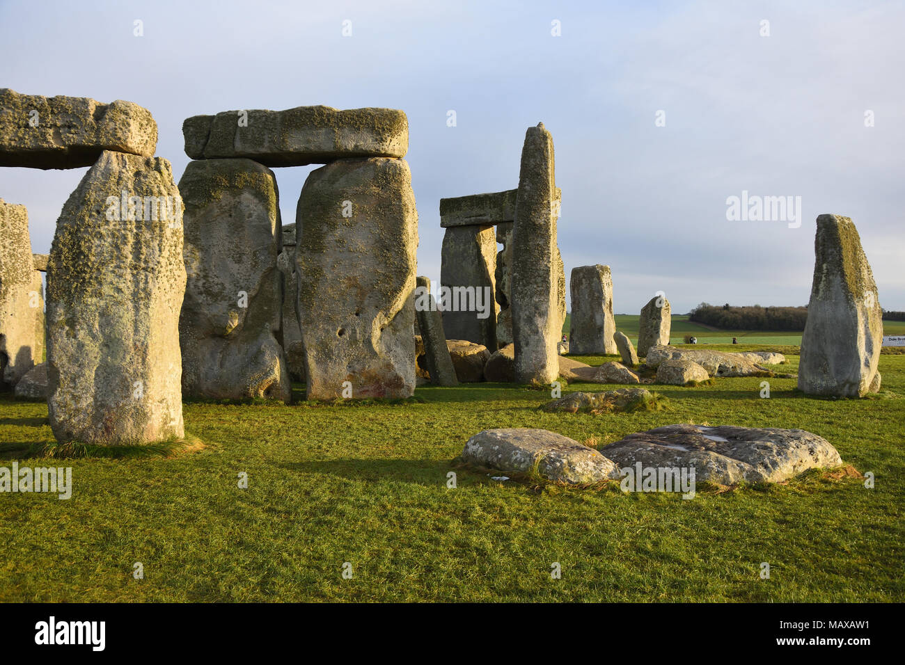 Stonehenge - one of the most popular Eropean  attractions. - Stock Image