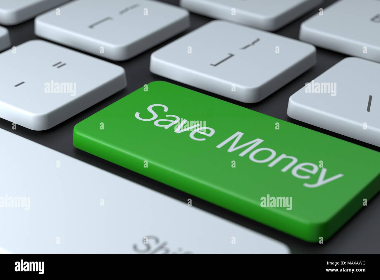 Save Money Button