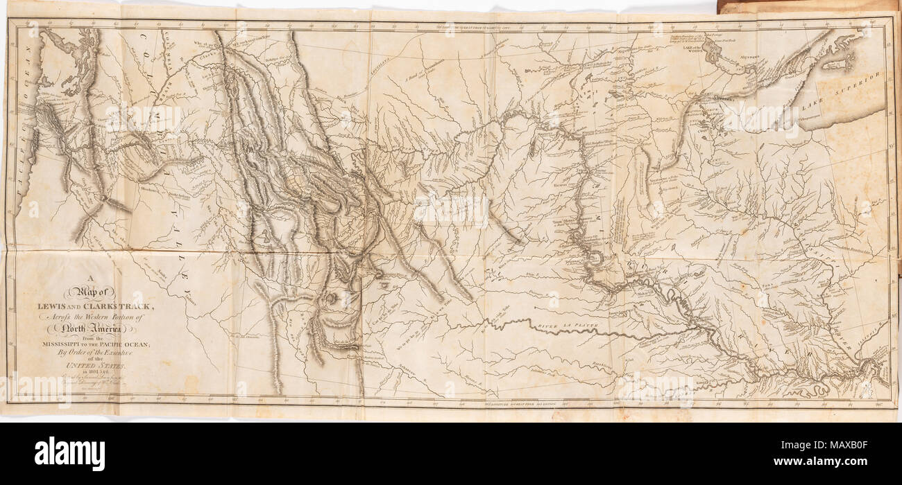 Map Of America Lewis And Clark.Lewis And Clark Map Stock Photos Lewis And Clark Map Stock Images